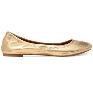 Lucky Brand Shoes - Lucky Brand NEW Emmie Gold Metallic Ballet Flats
